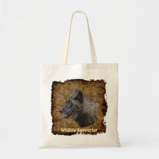 Grey Wolf Art Portrait Carry-Bag Collection Tote Bag