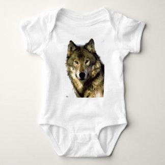Grey Wolf Baby Bodysuit