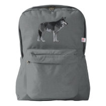Grey Wolf Backpack