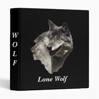 Grey Wolf Binder