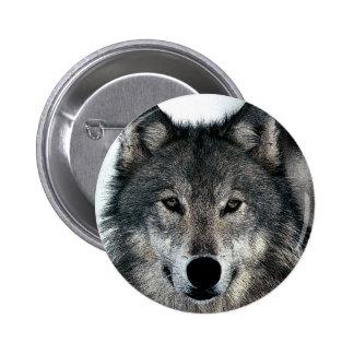 Grey Wolf Pin