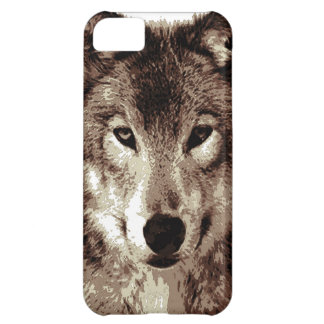Grey Wolf Case For iPhone 5C
