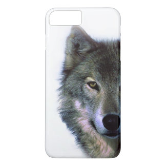 Grey Wolf Eyes Barely There iPhone 7 Plus Case