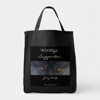 GREY WOLF EYES Carry-Bag Collection Tote Bag