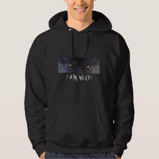 GREY WOLF EYES Hoodie or T-shirt