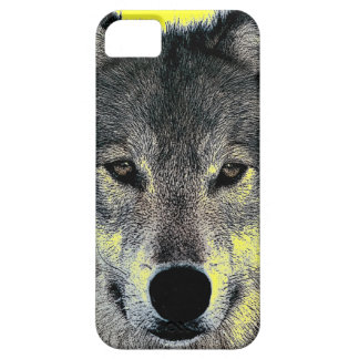 Grey Wolf Eyes iPhone 5 Cover