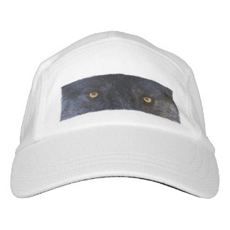 Grey Wolf Eyes Wildlife Photo Art Headsweats Hat