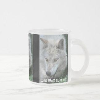 GREY WOLF EYES Wildlife Supporter Drinkware Mugs