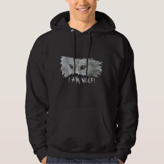 GREY WOLF EYES x Two Wildlife Hoodie