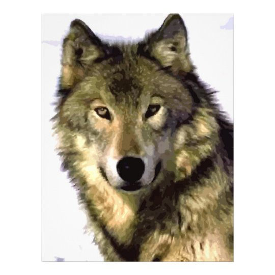 Grey Wolf Flyer