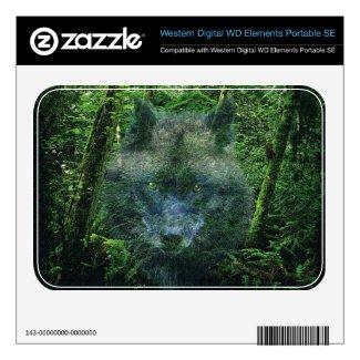 Grey Wolf & Forest Wolf-Lover Wildlife Skin musicskins_skin