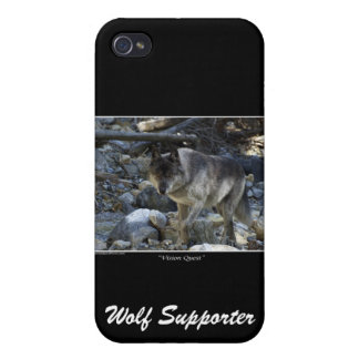 Grey Wolf iPhone Case iPhone 4 Cover