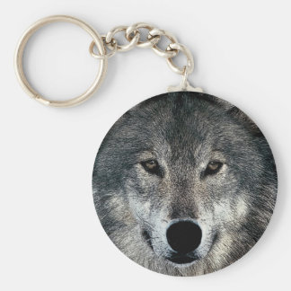 Grey Wolf Key Chains
