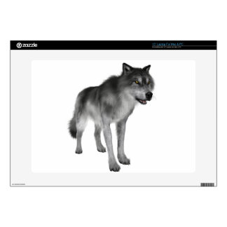 Grey Wolf Laptop Skins