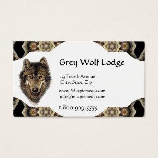 Grey Wolf Lodge Custom Business Card