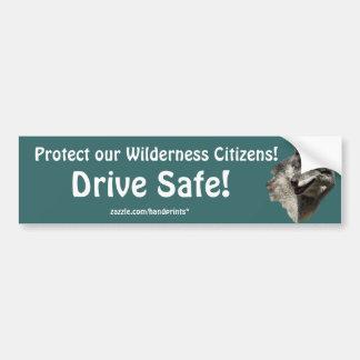 Grey Wolf Motivational Gifts Bumper Sticker
