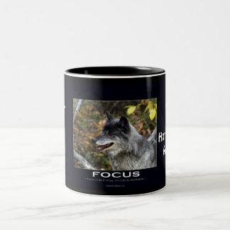 Grey Wolf Motivational Gifts Coffee Mug
