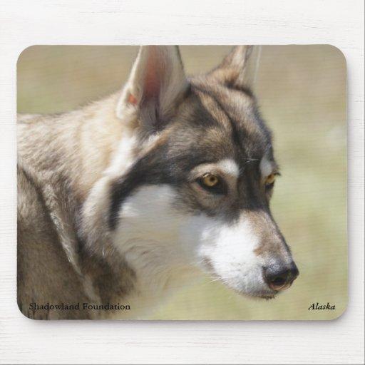 Grey Wolf Mousepad