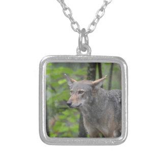 Grey Wolf Pendant