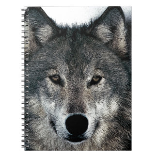 Grey Wolf Notebook