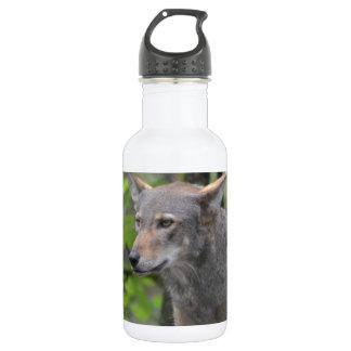 Grey Wolf 18oz Water Bottle