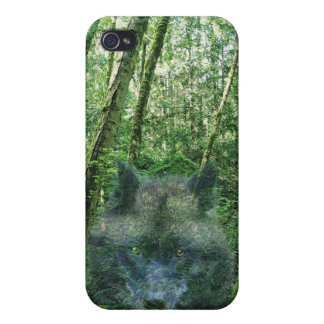Grey Wolf Photo Art Collection iPhone 4/4S Cover