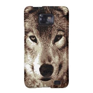 Grey Wolf Samsung Galaxy S2 Case