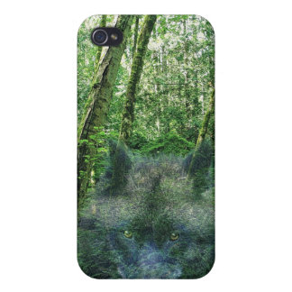 Grey Wolf Spirit Wildlife-supporter iPhone Case Cover For iPhone 4