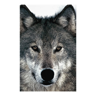 Grey Wolf Stationery