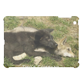 Grey Wolf Wildlife and Nature Design Cover For The iPad Mini