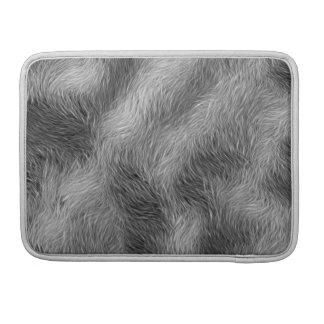 Grey Wolf Wildlife Fur MacBook Sleeve MacBook Pro Sleeve