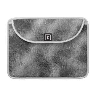 Grey Wolf Wildlife Fur MacBook Sleeve Sleeves For MacBooks