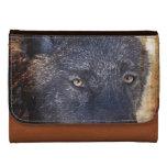 Grey Wolf Wildlife Photo design Wallet