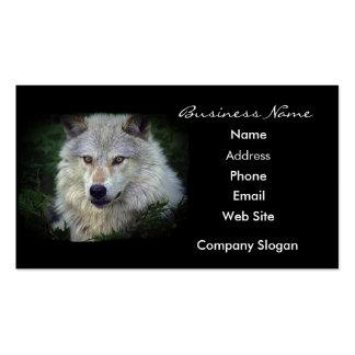 Grey Wolf Wildlife Supporter Business Card