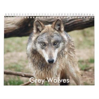 Grey Wolves Calendar, Grey Wolves Calendar