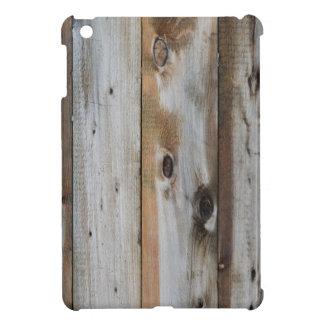 GREY WOOD TEXTURE iPad MINI CASE