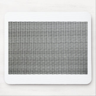 Grey woven webbing background mouse pad