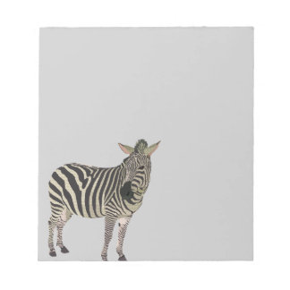 Grey Zeb Notepad