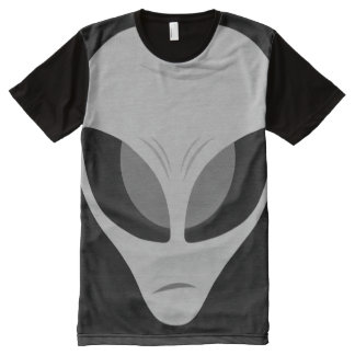 Grey Zeta Alien All-Over Print Shirt