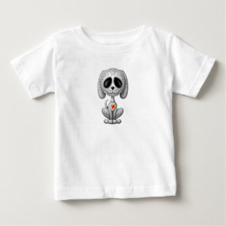Grey Zombie Sugar Puppy Baby T-Shirt