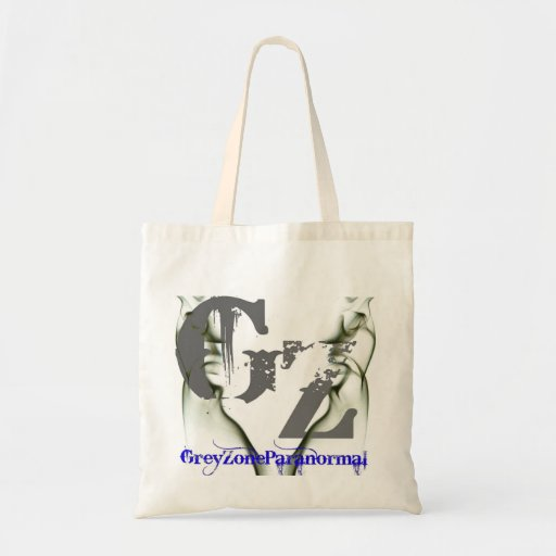 Grey Zone Paranormal Tote Canvas Bags