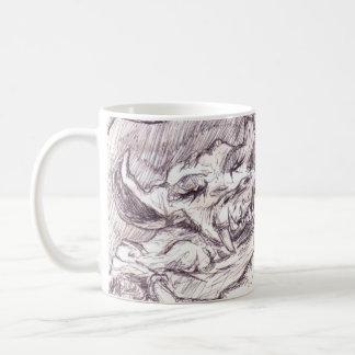 Greycloak y el dragón tazas de café