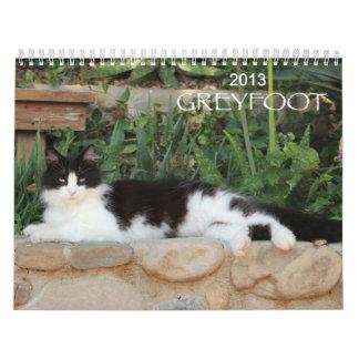 Greyfoot Cat Rescue 2013 Calendar