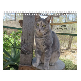 Greyfoot Cat Rescue 2018 Calendar