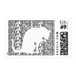 Greyfoot Cat Rescue Adopt Rescue Spay Neuter Stamp