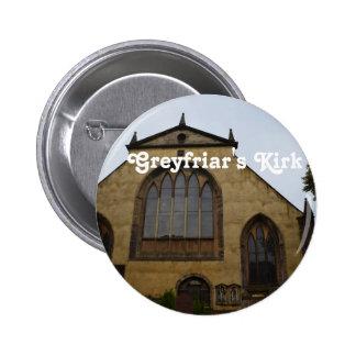 Greyfriar's Kirk 2 Inch Round Button