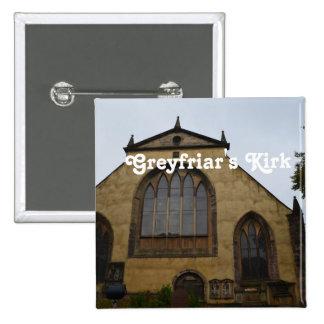Greyfriar's Kirk 2 Inch Square Button