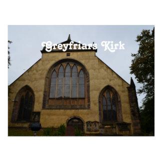 Greyfriars Kirk Post Card