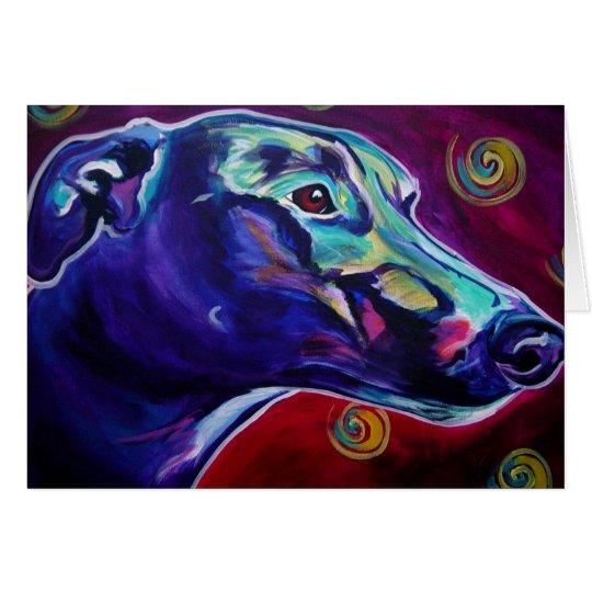 Greyhound #1 card