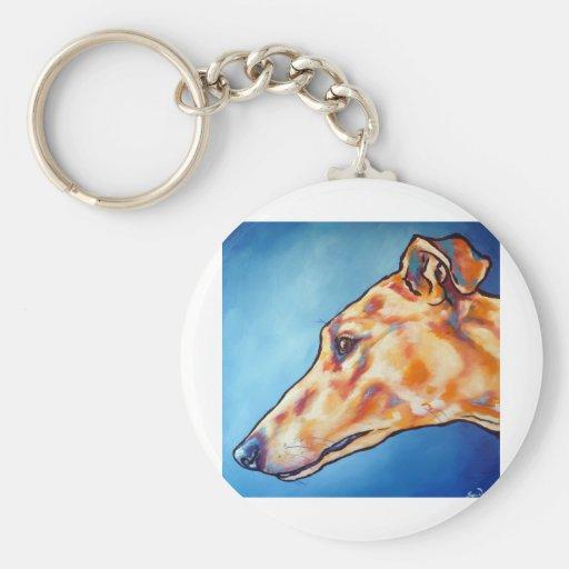 Greyhound 1 key chains